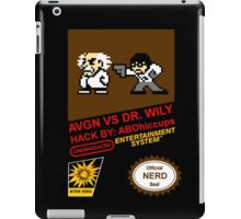 AVGN VS Dr. Wily NES Box Art iPad Case/Skin