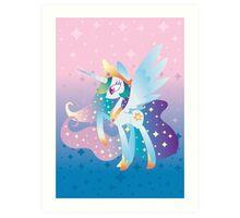 Princess of light Art Print