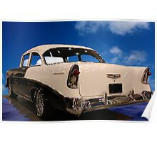 1956 Chevy Dreamboat Poster
