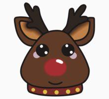 Red-Nosed Reindeer Baby Tee