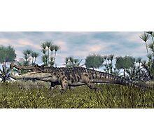 Kaprosuchus Photographic Print