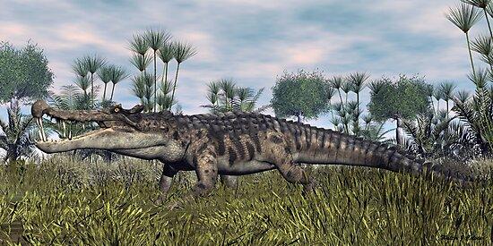 Kaprosuchus by Walter Colvin