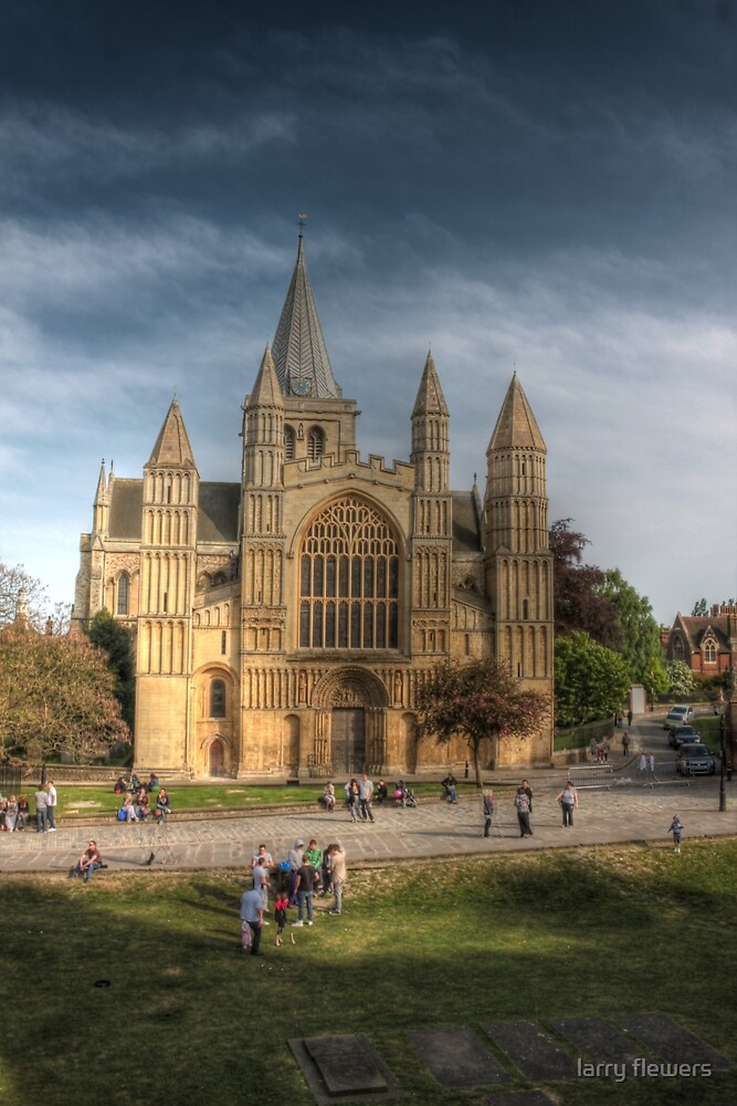 Rochester Cathedral by larry flewers