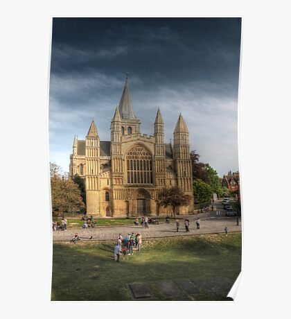 Rochester Cathedral Poster