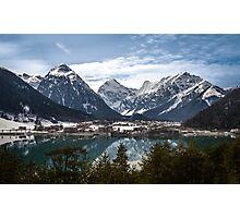 Aachensee and the Alps Photographic Print