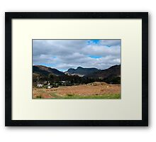 That First View Framed Print