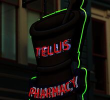 Neon Advert by KRphotog
