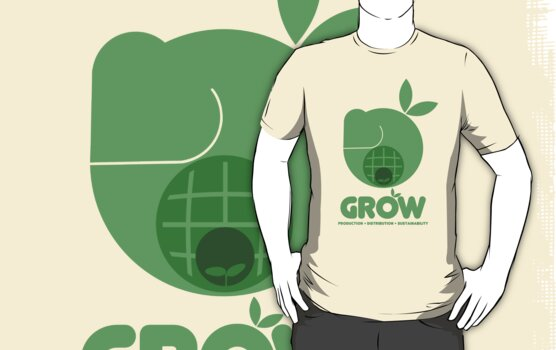 Oxfam: Grow (Design Two) by maekstar