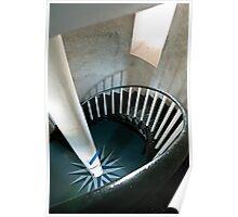 Inside Smoky Cape Lighthouse Poster