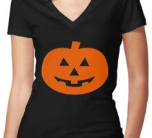 Halloween  Women's Fitted V-Neck T-Shirt