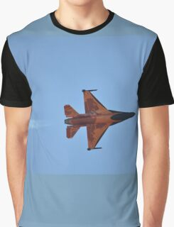 F16 Banked,Hunter Valley Airshow,Australia 2015 Graphic T-Shirt
