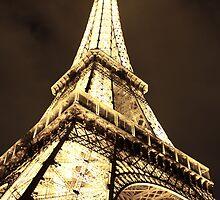 Under the Eiffel Tower by David Mace-Kaff