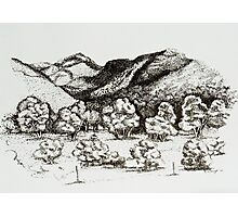 The Distant Hills Photographic Print
