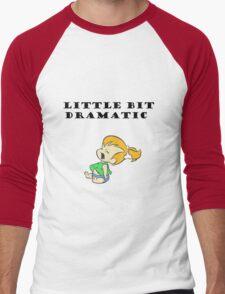 Little Bit Dramatic (Pebbles Flintstone) Men's Baseball ¾ T-Shirt