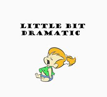Little Bit Dramatic (Pebbles Flintstone) Womens Fitted T-Shirt