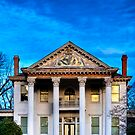 Winter Blue - Old Southern Home by Mark Tisdale