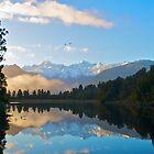 Lake Matheson by Jon Fassett