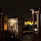 Rome by night by monica palermo