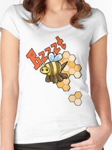 The Angry Honey Bee Women's Fitted Scoop T-Shirt