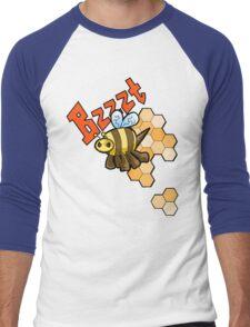 The Angry Honey Bee Men's Baseball ¾ T-Shirt