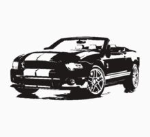Ford Mustang Shelby GT500 Convertible 2013 by garts