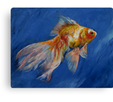 Goldfish Canvas Print