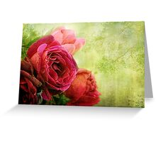 Colours of Voluptuous Fancy Greeting Card