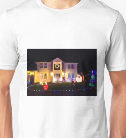 Glowing Home Unisex T-Shirt