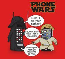 Phone Wars Baby Tee