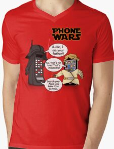 Phone Wars Mens V-Neck T-Shirt