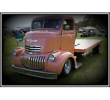 Pink Wreck Photographic Print