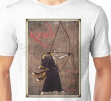 Kyudo Kitsune- The Way Of The Archer Unisex T-Shirt