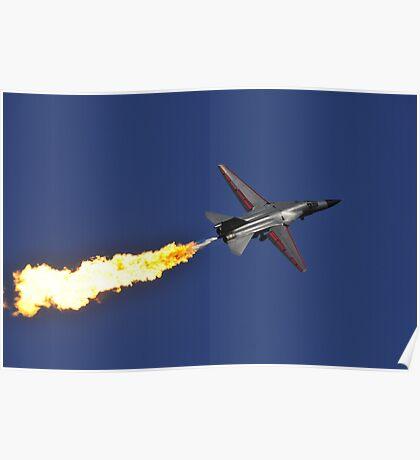 F-111 Dump and Burn Poster