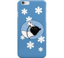 Black and White Cartoon Paint Horse iPhone Case/Skin