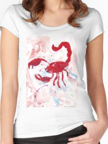 Scorpion Women's Fitted Scoop T-Shirt