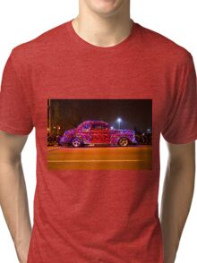 Glowing Oldie Red Tri-blend T-Shirt