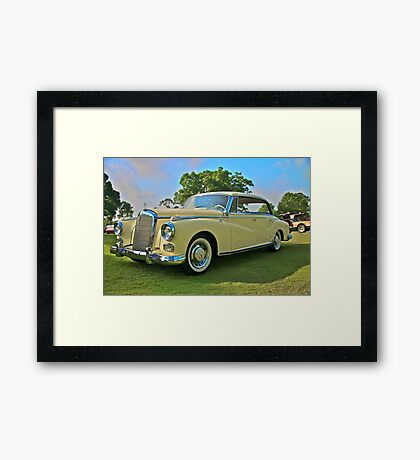 1960 Mercedes 300 Hardtop Sedan Framed Print