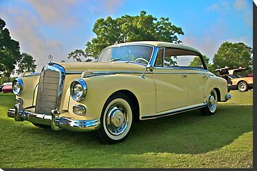 1960 Mercedes 300 Hardtop Sedan by Mike Capone