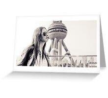 Shanghai Oriental Pearl TV Tower Greeting Card