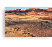 The Sculptured Dunes Canvas Print
