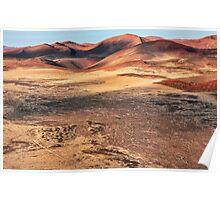 The Sculptured Dunes Poster