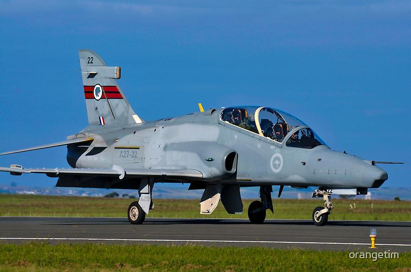 BAe 127 Hawk, A27-22, 76 Squadron, RAAF Williamtown by Tim Pruyn