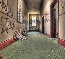 Top Level Hallway by Janko Dragovic