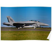 F/A-18F Super Hornet, A44-203, 1 Squadron, RAAF Amberley Poster