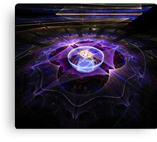 Spectral Surface Canvas Print
