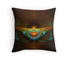 Cosmic Headband Throw Pillow