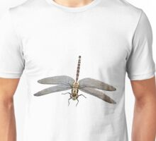 Dragon Fly micro photography close up flipped down Unisex T-Shirt