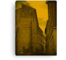 Florence streets Canvas Print