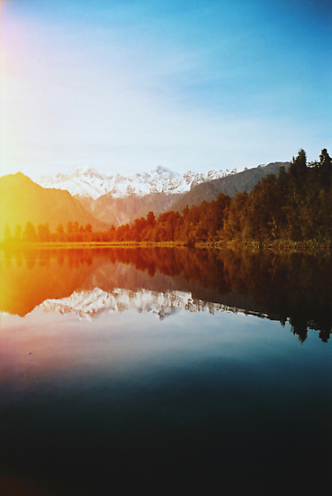 Lake Matheson by Karin Elizabeth
