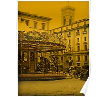 Florence merry go round Poster